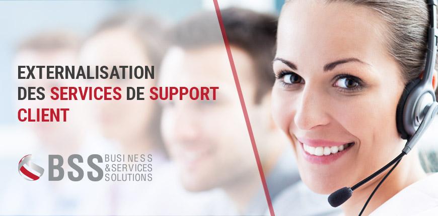 Externalisation des services de support client