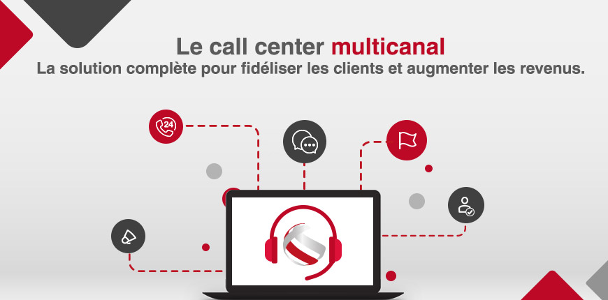 Call center multicanal : Fidéliser vos clients et augmenter vos revenus