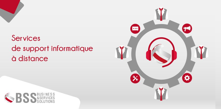 Services de support informatique à distance