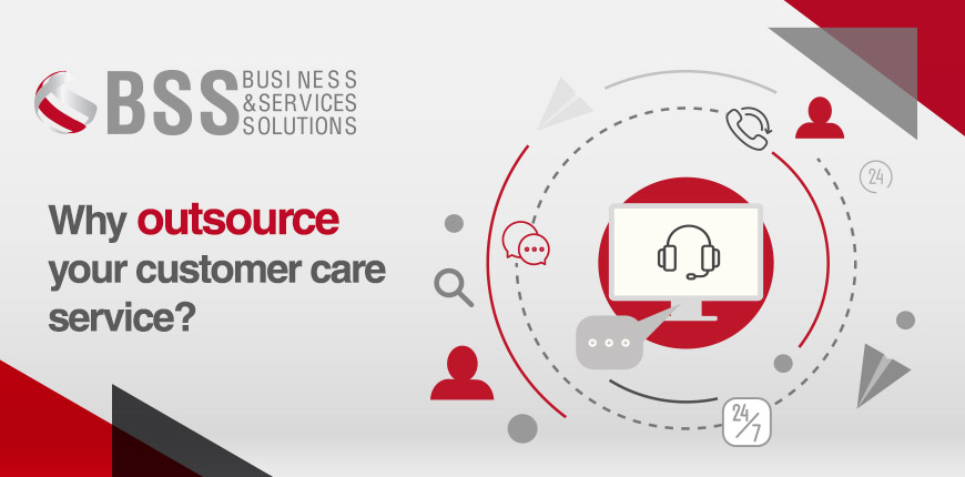 Why outsource your customer care service ?