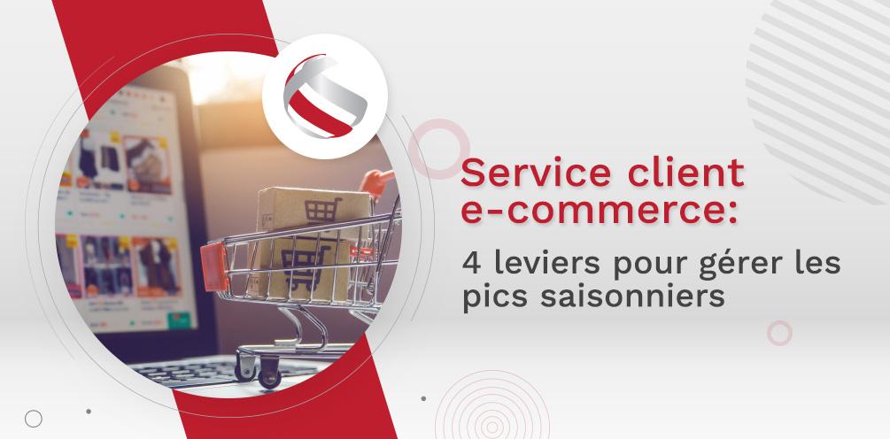 Service client e-commerce : 4 leviers pour gérer les pics saisonniers